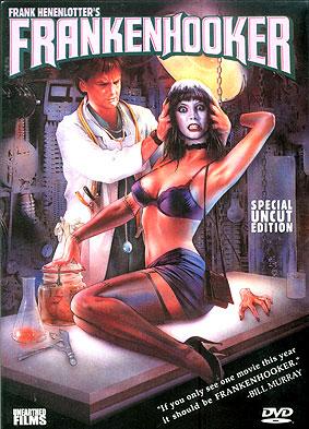 """Unearthed Films' """"Frankenhooker"""" DVD"""