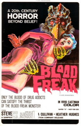 """Blood Freak"" Movie Poster"