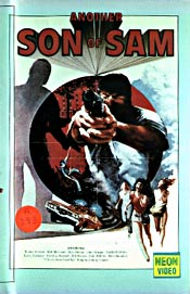 "Original VHS Box Cover for ""Another Son Of Sam"""