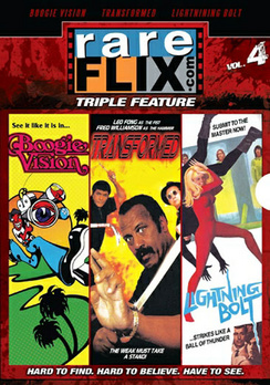 "Rareflix Vol. 4, Featuring ""Boogie Vision, ""Transformed"" and ""Lightning Bolt"""