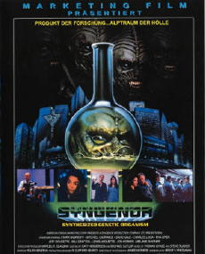 "Original European poster for ""Syngenor"""