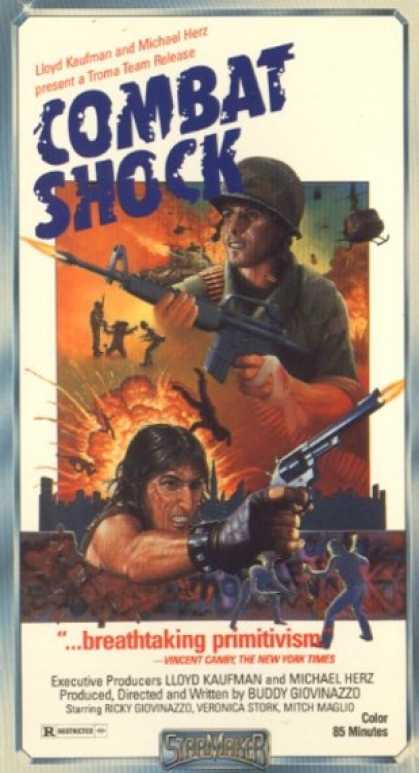 """Combat Chock"" VHS Cover"