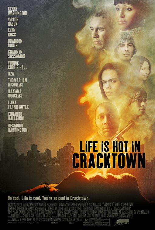 """Life is Hot in Cracktown"" movie poster"