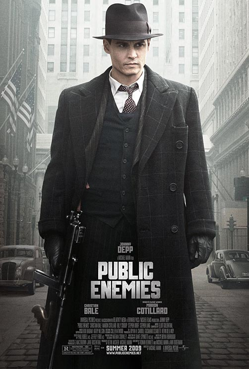 """Public Enemies"" Movie Poster"