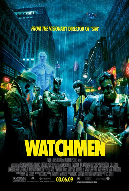 "Movie Poster for Zack Snyder's ""Watchmen"""