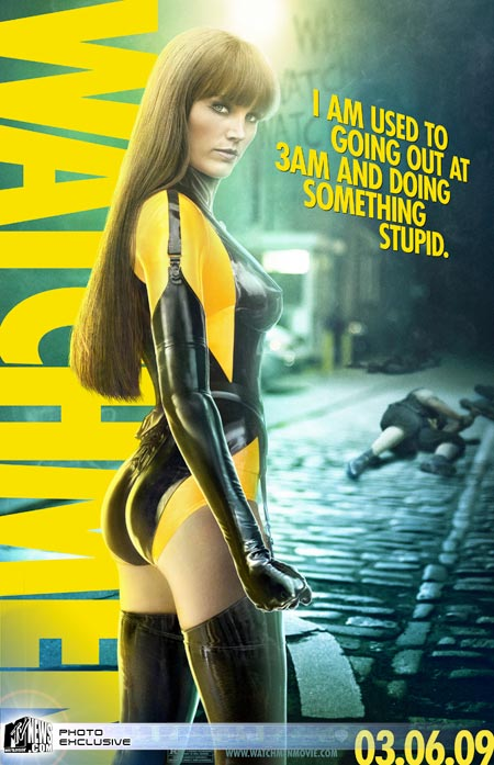 Malin Akerman as Silk Spectre II