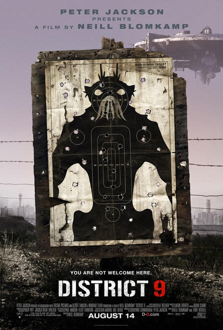 """District 9"" Movie Poster"