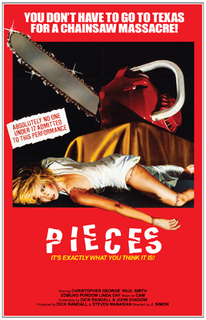 "Original ""Pieces"" Movie Poster"