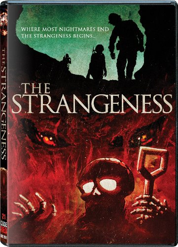 "DVD Cover for Code Red's New Release of ""The Strangeness"""