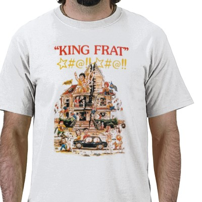 """King Frat"" t-shirt"