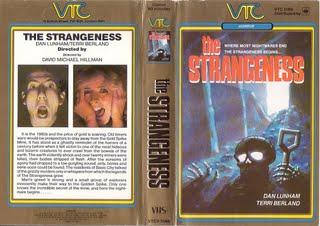 "Original VHS Cover for ""The Strangeness"""