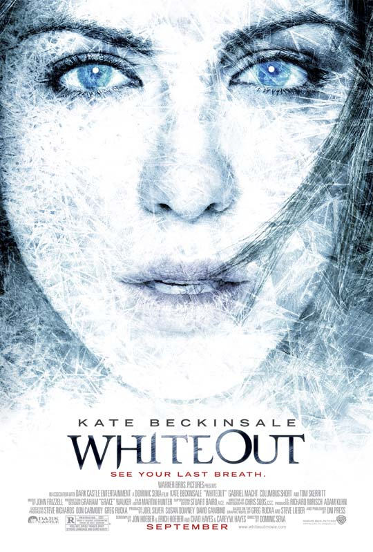 """Whiteout"" Movie Poster"