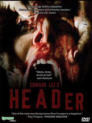 """Header"" DVD Cover From Synapse Films"