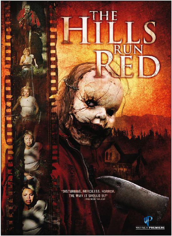"""The Hills Run Red"" DVD Cover"