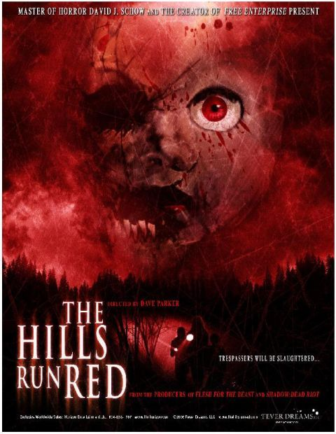 """The Hills Run Red"" Movie Poster"