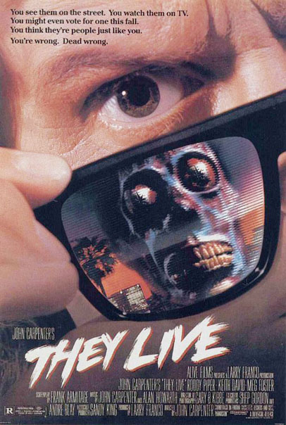 """They Live"" Movie Poster"