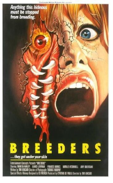 Alien Abduction Porn Stories - John's Horror Corner: Breeders (1986), a filthy alien abduction flick  written and directed by Tom Kincaid, no stranger to classlessness. |  Movies, Films & Flix