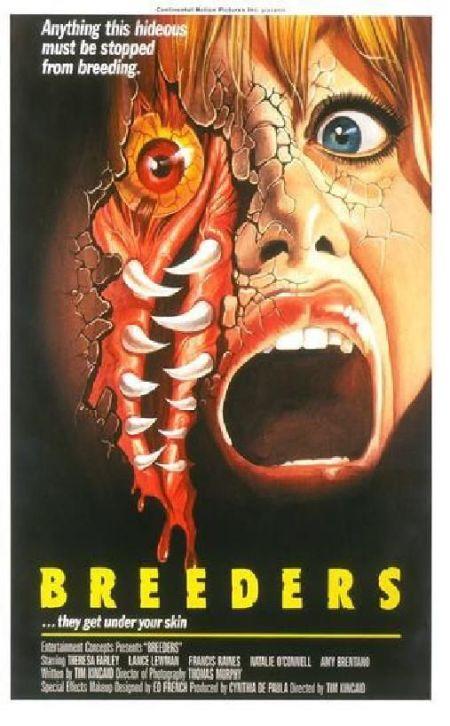John S Horror Corner Breeders 1986 A Filthy Alien