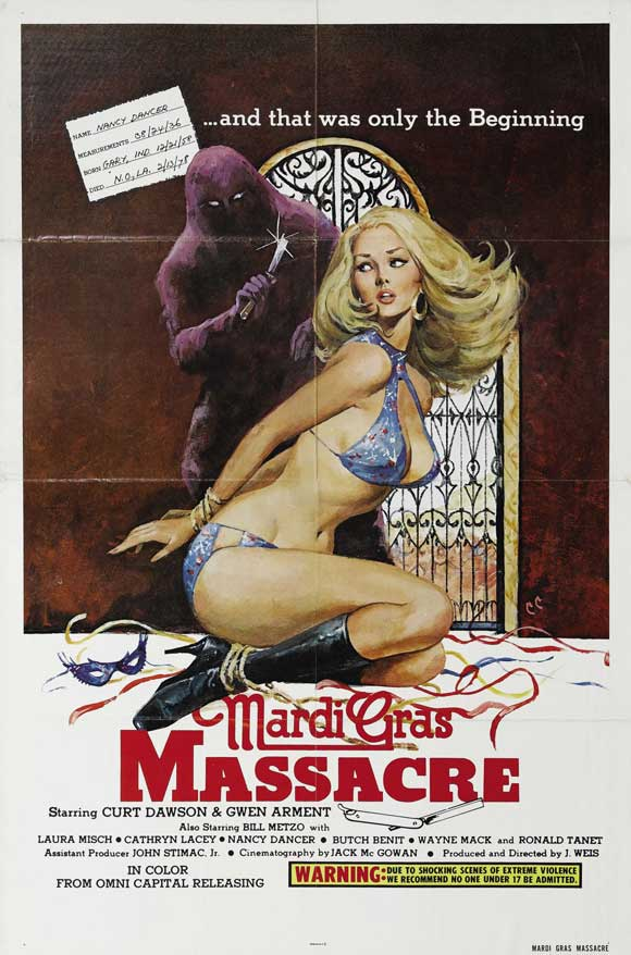 Mardi Gras Massacre Movie