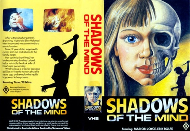 shadows of the mind vhs front & back