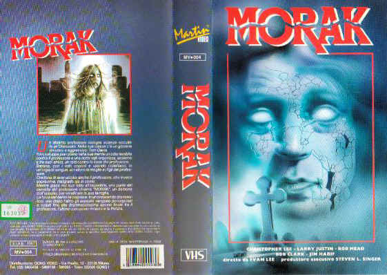 meatcleaver massacre vhs front & back