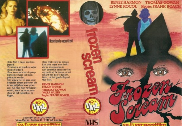 frozen scream dutch vhs front & back2