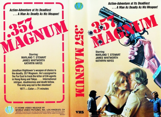 357 Magnum US World Video VHS