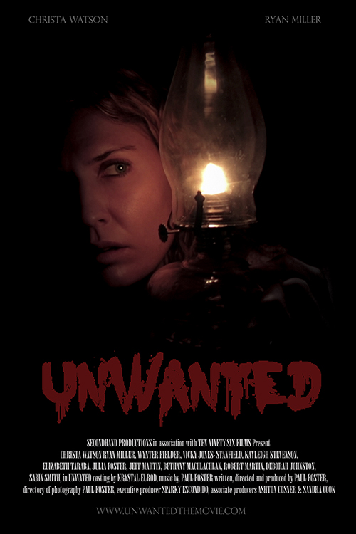 heres one im predisposed to like right off the bat writerdirector paul fosters 2017 indie horror unwanted a well and truly homemade effort shot in