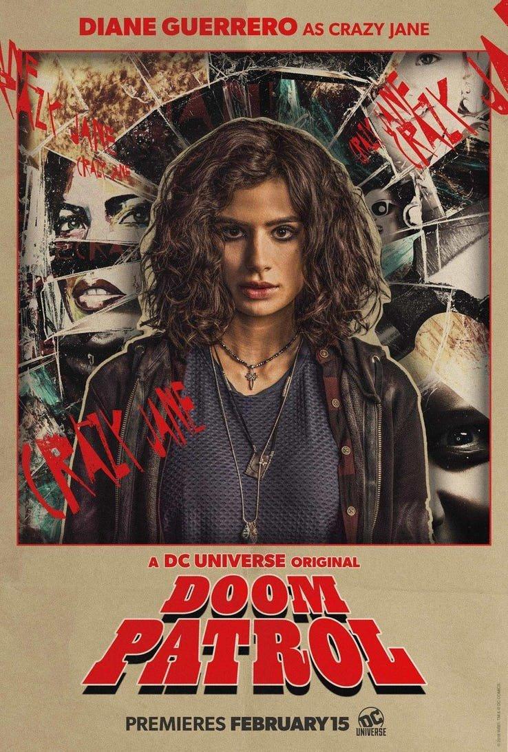 Trash Tv Guru Doom Patrol Season One Episode Nine Jane